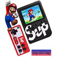 Портативная игровая консоль денди ретро приставка с джойстиком 400 игр Sup gamebox приставка супер марио 8 бит