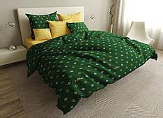 Двуспальный комплект постельного белья евро 200*220 ранфорс  (16736) TM KRISPOL Украина