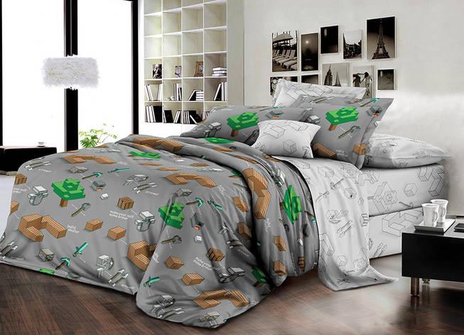 Детский комплект постельного белья 150*220 хлопок (16770) TM KRISPOL Украина, фото 2
