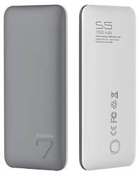 Портативна батарея (Power Bank) Puridea S5 7000mAh Li-Pol Grey & White
