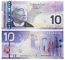 Канада 10 долларов 2005 UNC