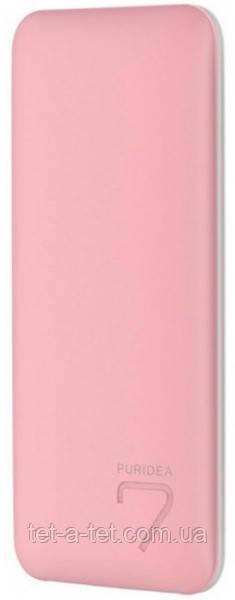 Портативна батарея (Power Bank) Puridea S5 7000mAh Li-Pol Pink & White