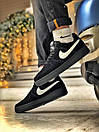 Кроссовки женские  Nike Air Force 1 Black Fur, фото 4