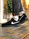 Кроссовки женские  Nike Air Force 1 Black Fur, фото 5