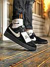 Кроссовки женские  Nike Air Force 1 Black Fur, фото 9