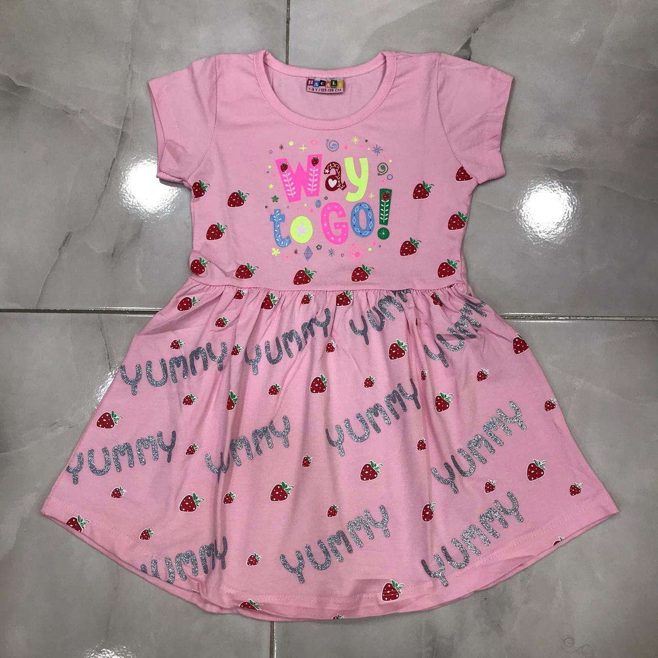 Дитяче плаття 1-8 років на дівчаток оптом Туреччина
