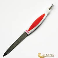 Пилочка маникюрная  для ногтей металлическая с резцом La ROSAВEAUTY NF263