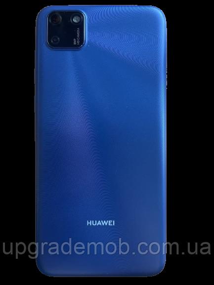 Задня кришка Huawei Y5p 2020 синя Phantom Blue оригінал + скло камери