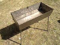 Мангал разборной на 12 шампуров (мангал-чемодан 2,0 мм.)