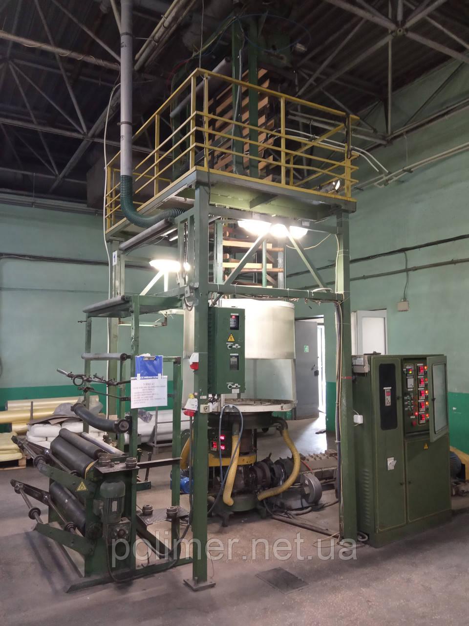Экструдер для производства полиэтиленовой пленки FM-60-1000