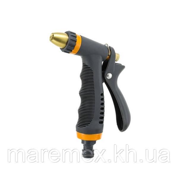 Пистолет для полива металлический Presto-PS насадка на шланг (7206)