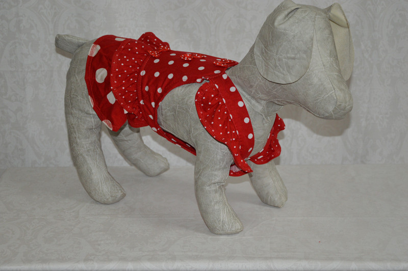 Горошок Такса сарафан для собак ліквідація