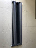 Радиатор дизайнерский вертикальный Bari 8/1500 Антрацит матовый 1500*360, фото 1