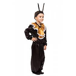 Детский карнавальный костюм МУРАВЕЙ для мальчика 3,4,5,6,7,8 лет, детский новогодний костюм МУРАВЬЯ