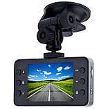 Автомобільний відеореєстратор Full HD 1080p К6000 з екраном 2.6 дюймів, автомобільний Відеореєстратор hd, Авто відео камера, фото 2