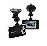 Автомобільний відеореєстратор Full HD 1080p К6000 з екраном 2.6 дюймів, автомобільний Відеореєстратор hd, Авто відео камера, фото 7