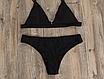 Женский раздельный стильный купальник Kapitto black, фото 2