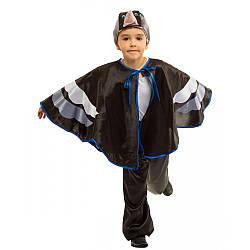 Детский карнавальный костюм ГРАЧ, СКВОРЕЦ для мальчика 4,5,6,7,8,9 лет, детский новогодний костюм ПТИЦЫ