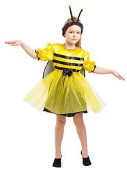 Детский карнавальный костюм ПЧЕЛА, ПЧЕЛКА для девочки 3,4,5,6,7 лет, детский новогодний костюм ПЧЕЛЫ, ПЧЁЛКИ