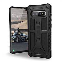 Чохол Urban Armor Gear для Samsung Galaxy S10 Plus - Monarch, Black (X0021Y1ED1)