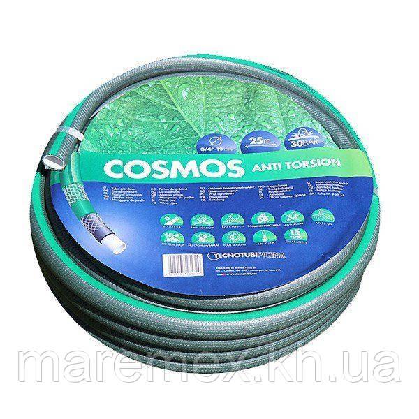 Шланг Tecnotubi Cosmos садовий для поливу діаметр 3/4 дюйма, довжина 50 м (CS 3/4 50)