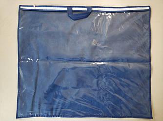 Упаковка для подушки, авточехлов 70х60 см ПВХ 90 Синий
