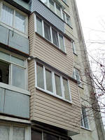 Наружная обшивка лоджии или балкона