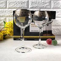 "Набор бокалов 280 мл для вина GE08-1688 ""Эдем"" рисунок ""Версаче"" 6 шт., фото 1"