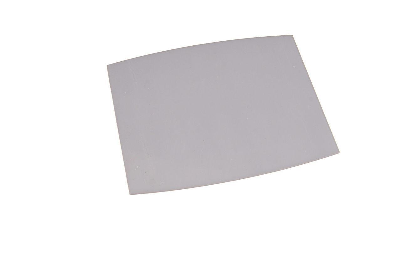 Скло для зварювального маски Vita - 90 х 110 мм, полікарбонат напівкругле