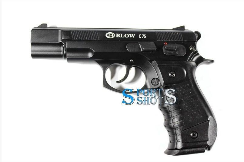 Сигнальный пистолет Blow C 75 с доп. магазином