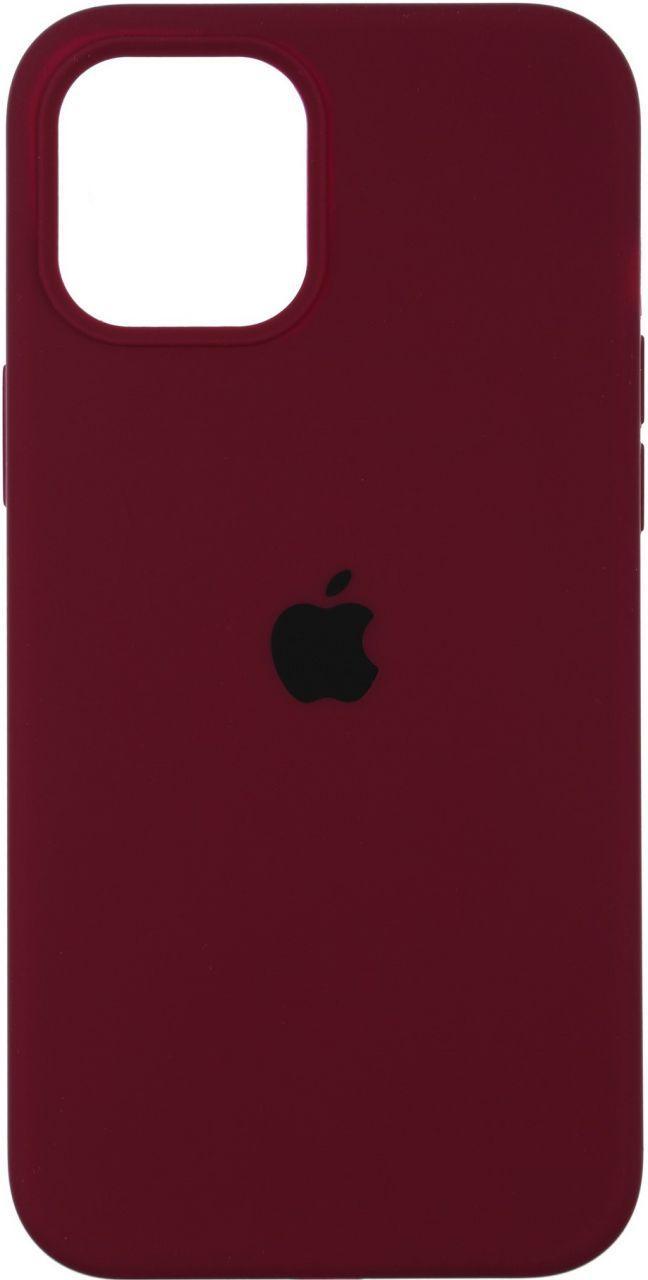 Чехол Apple Silicone Case Apple iPhone 12 Mini Marsala