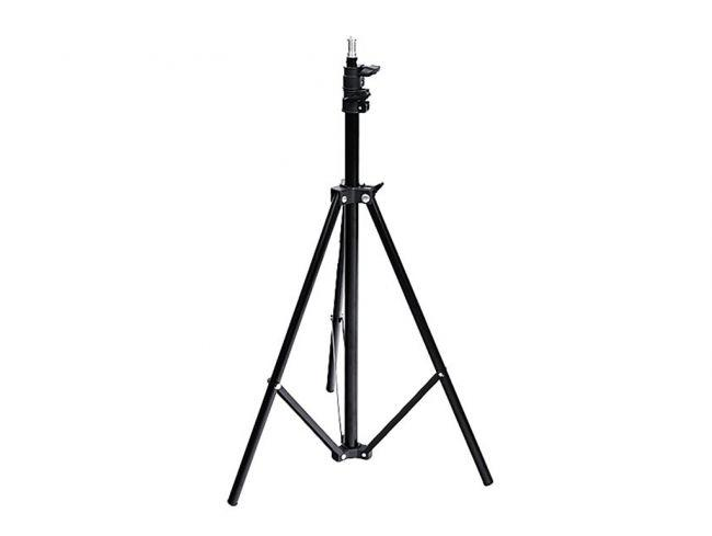 ОПТ Професійний сталевий штатив Ballu BIH-LS-210 для кільцевої селфи лампи 210 см з притискним механізмом