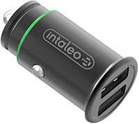 Автомобильное зарядное устройство Intaleo CCG482 2USB 4.8A Black
