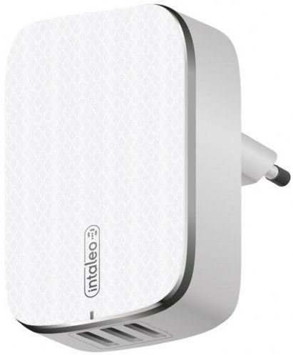 Мережевий зарядний пристрій Intaleo TCG343 3USB 3.4 A White
