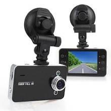 Авторегистратор Full HD 1080p К6000 с экраном 2.6 дюймов, Видеорегистратор автомобильный hd, Авто видео камера