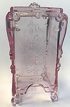 Контейнер-підставка для безворсовий серветок Метелик, (пластиковий)