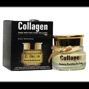 Дневной крем Wokali Collagen Restoring Nourishing Day Cream 55 г