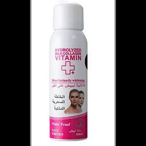 Отбеливающее средство для лица Wokali Hydrolyzed Milk Collagen Vitamin+Face Whiten 180 мл
