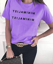 Женская летняя футболка норма и батал новинка 2021