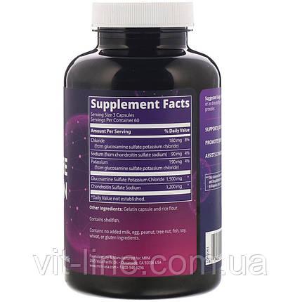 MRM  Nutrition глюкозамин хондроитин, 180 капсул, фото 2