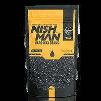 Воск для депиляции в гранулах Nishman Professional Hard Wax Beans (Черный) 500г
