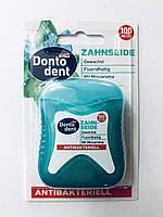 Зубна нитка Dontodent Antibakteriell , 100 м