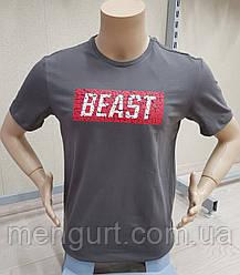 Качественные мужские футболки с надписью