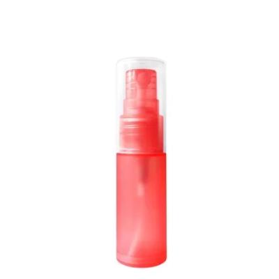 Флакон для парфюмерии ПОЛИМЕРНЫЙ Бали 15 мл. КРАСНЫЙ с пластиковым спреем