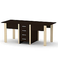 Стол книжка 3 венге комби Компанит (190х80х75 см), фото 1