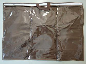 Упаковка для подушки 50х70 см ПВХ 70 Коричневый