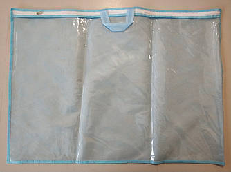 Упаковка для подушки 50х70 см ПВХ 70 Голубой