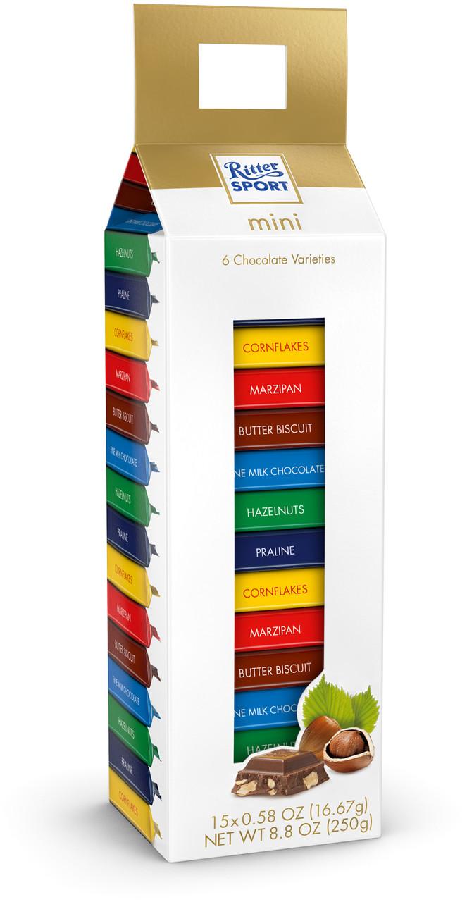 Шоколадні цукерки Ritter Sport Mini Tower 15s 250 g