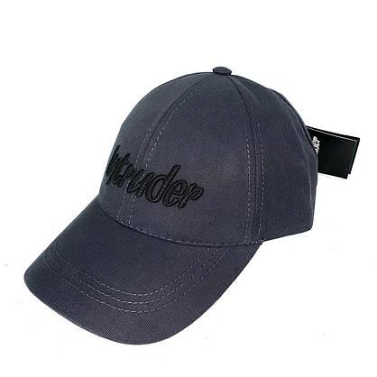 Кепка Intruder мужская   женская серая брендовая бейсболка Big logo + Фирменный подарок, фото 3