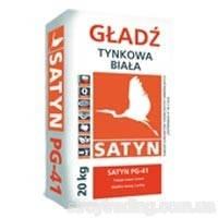 SATYN  PG-41 шпаклевка гипсовая финишная - 20 кг